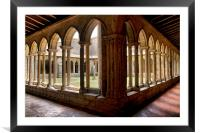The Cloisters , Framed Mounted Print