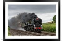 The Welsh Marches Express, Framed Mounted Print