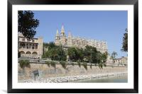 Palma Cathedral, Framed Mounted Print