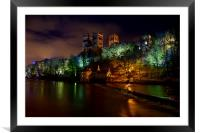 Durham Lumiere, Framed Mounted Print