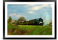 Approaching Goathland North Yorkshire, Framed Mounted Print