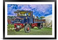Vintage Transport, Framed Mounted Print
