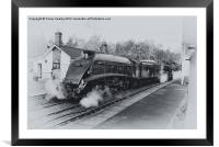 North Yorks Moors Railway, Framed Mounted Print