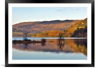 Calm Day on Ullswater, Framed Mounted Print
