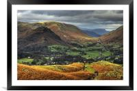 Glorious Grasmere, Framed Mounted Print