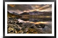 Wast Water, Lake District, Framed Mounted Print