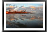 The Big One, Framed Mounted Print