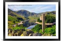 Haweswater, Cumbria, Framed Mounted Print