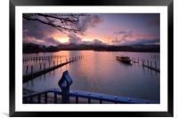 Derwentwater, Framed Mounted Print