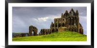 A place of Vampires, Framed Mounted Print