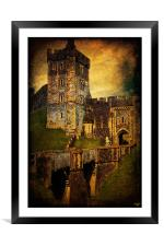 Portal To The Castle, Framed Mounted Print