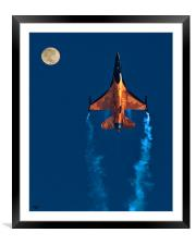 GOING UP!, Framed Mounted Print
