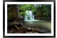 Janets Foss - Yorkshire, Framed Mounted Print