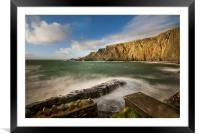 Hartland Point Devon, Framed Mounted Print