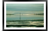 Chichester harbour, Framed Mounted Print