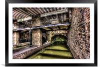 Grocers Warehouse Castlefield Manchester, Framed Mounted Print