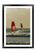 TWO FOR ONE, Framed Mounted Print