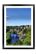 Good day to canoe, Framed Mounted Print
