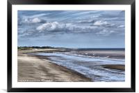 Skegness Beach, Framed Mounted Print