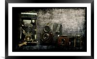 one, two, three..., Framed Mounted Print
