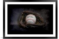 Play Ball (light edition), Framed Mounted Print