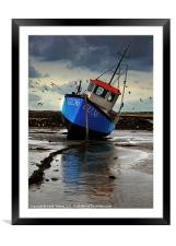 Fishing Boat 3 Canvases & Prints, Framed Mounted Print