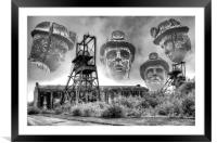 The Decline Of An Industry, Framed Mounted Print