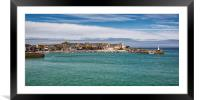 St Ives in Cornwall , Framed Mounted Print