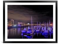 Blue Waters., Framed Mounted Print