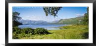Derwent Water from Low Manesty, Framed Mounted Print