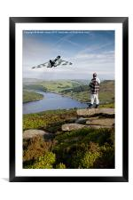 An Awesome Site, Framed Mounted Print