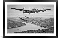 617 Squadron Homeward Bound, Framed Mounted Print