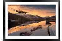 Lancaster Sunrise, Framed Mounted Print