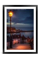 The 199 Steps of Whitby, Framed Mounted Print