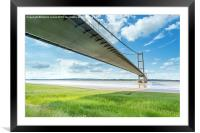 Shadows Across the Humber, Framed Mounted Print