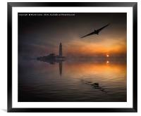 Vulcan to the North East, Framed Mounted Print