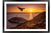 Vulcan over The Stack - Ynys Mon, Framed Mounted Print