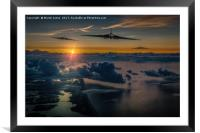 Vulcans are Go - This is for real, Framed Mounted Print