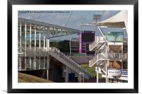 Cricket Ground Southampton, Framed Mounted Print
