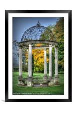 The Monument, Framed Mounted Print