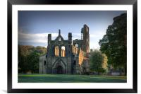 Kirkstall Abbey, Framed Mounted Print