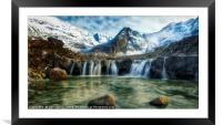 Fairy Pools,Isle of Skye, Framed Mounted Print