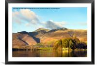 Skiddaw And Friars Crag, Cumbria 2, Framed Mounted Print