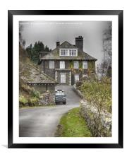 The Haweswater Hotel, Cumbria, Framed Mounted Print