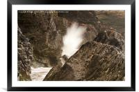 Power of Water, Framed Mounted Print