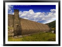 This Magnificent Dam, Framed Mounted Print