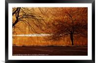 My Place, Derwent, Framed Mounted Print