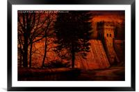 The East Tower, Framed Mounted Print