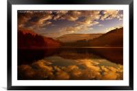 Derwent Waters, Framed Mounted Print