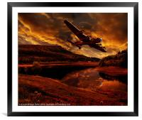 Lancaster's Return, Framed Mounted Print
